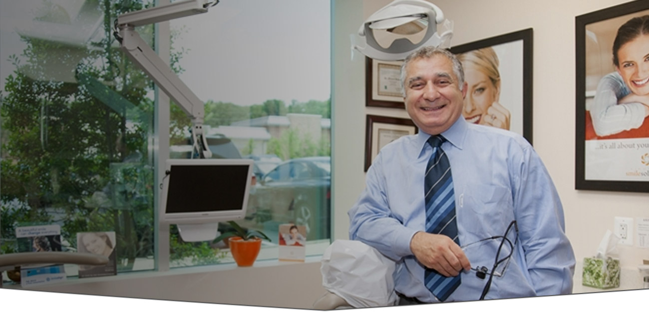 Dr. Bassiri in his Fairfax dental practice